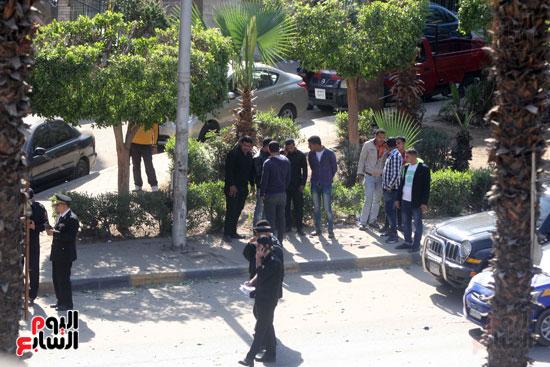 انفجار شارع الهرم (15)
