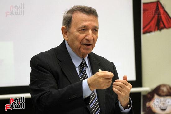 STOCKHOLM, SWEDEN - DECEMBER 10: Professor Ahmed H. Zewail (l) receives