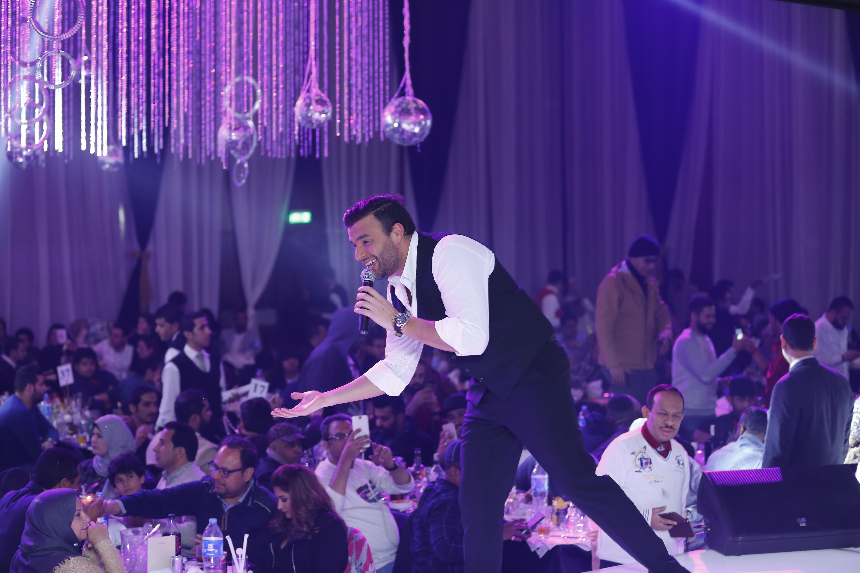 رامى صبرى يتقاعل مع الجمهور