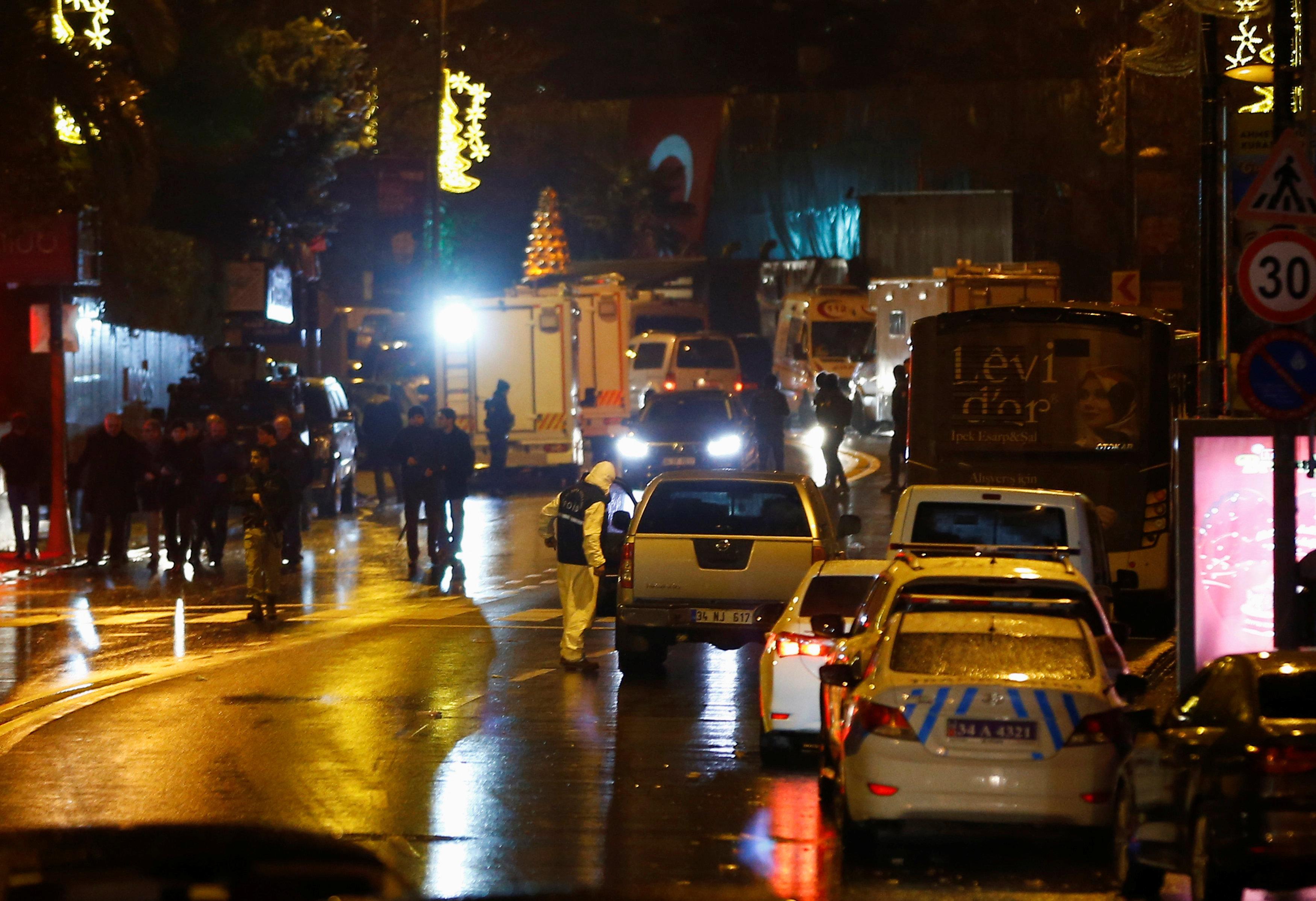 حادث ارهابى ليلة رأس السنة بتركيا