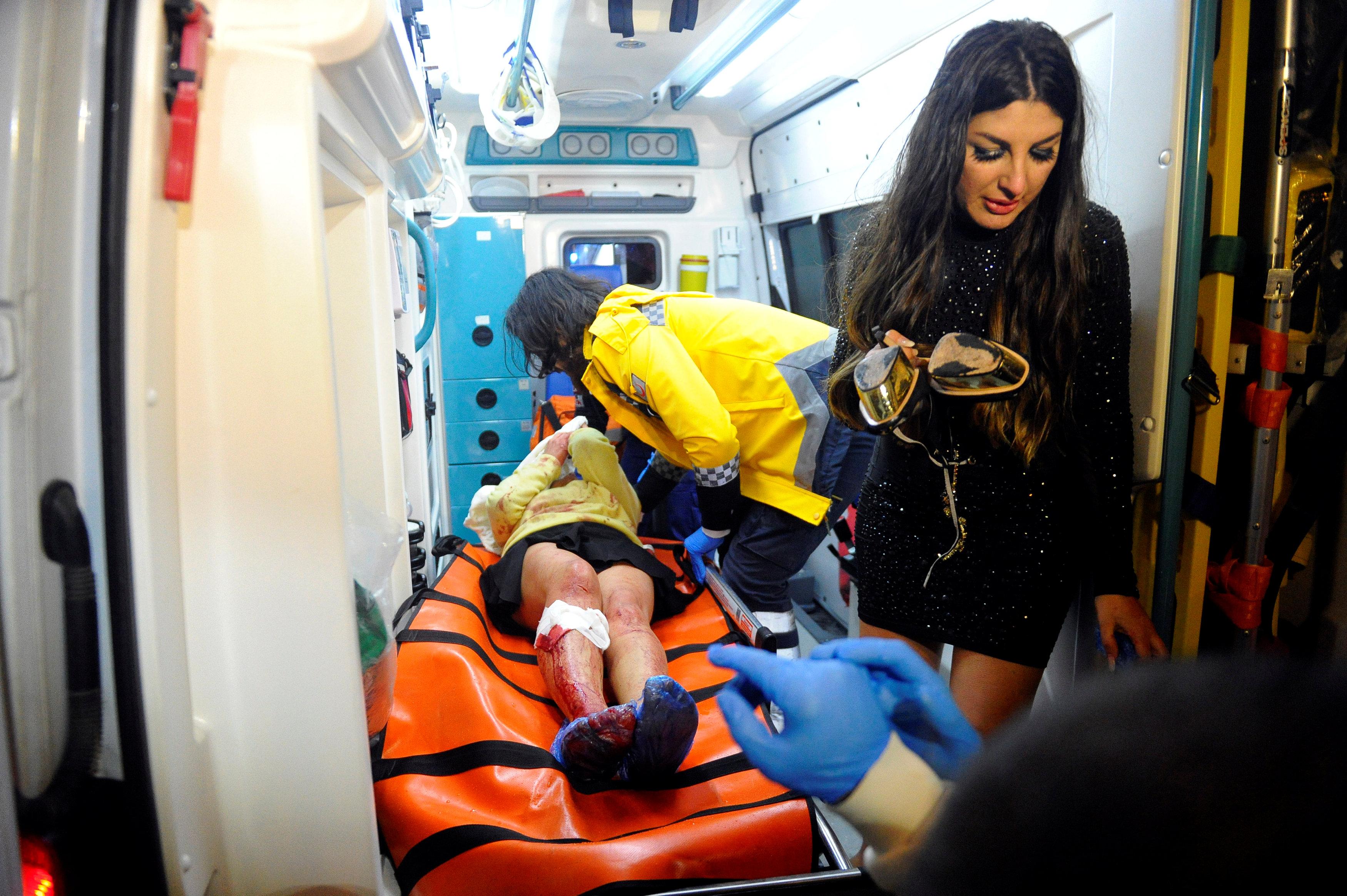 مصابون فى هجوم ارهابى ملهى ليلى باسطنبول