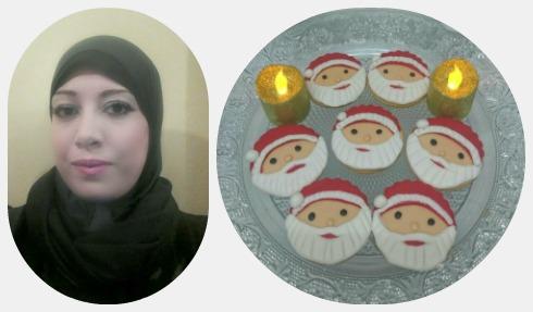الشيف دعاء جمال وكوكيز بابا نويل