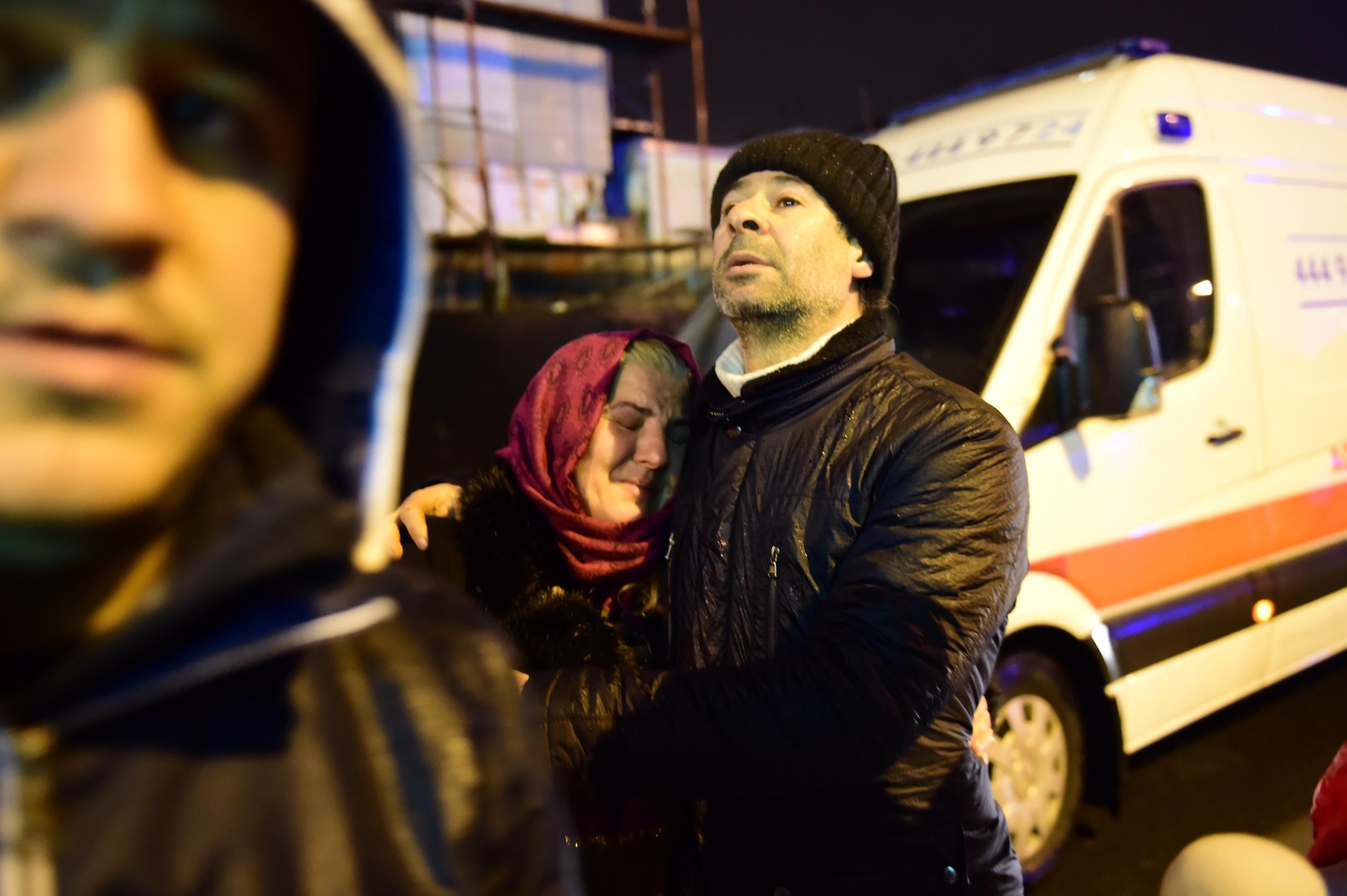 تركيا تنتحب على الضحايا
