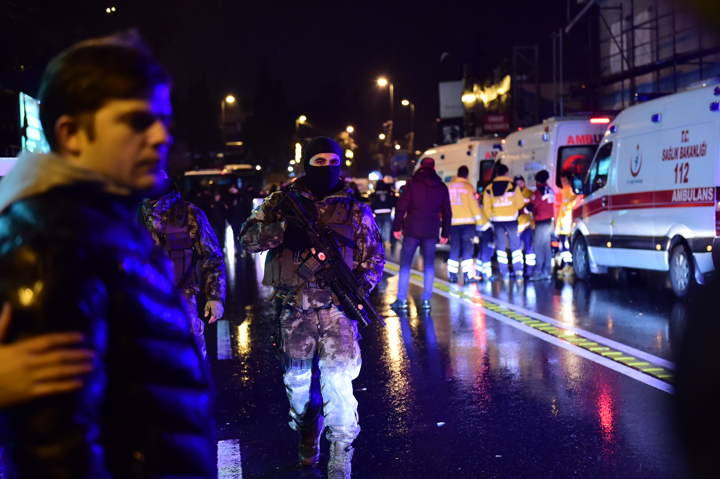 مصابون باسطنبول