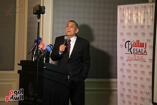 الدكتور شريف عبد العظيم يشرح دور جمعية رسالة فى المجتمع