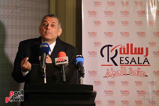 شريف عبد العظيم  يتحدث عن إنجازات جمعية رسالة