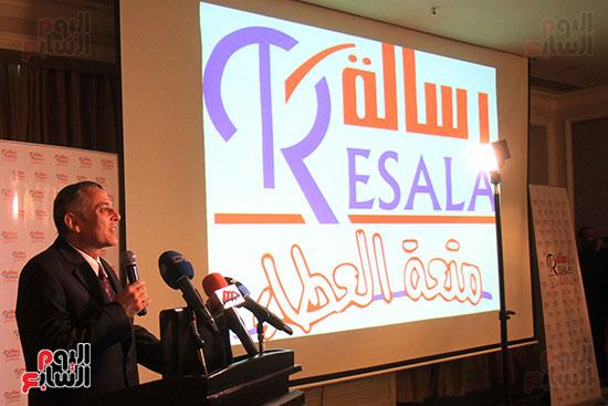 رئيس جمعية رسالة  الدكتور شريف عبد العظيم