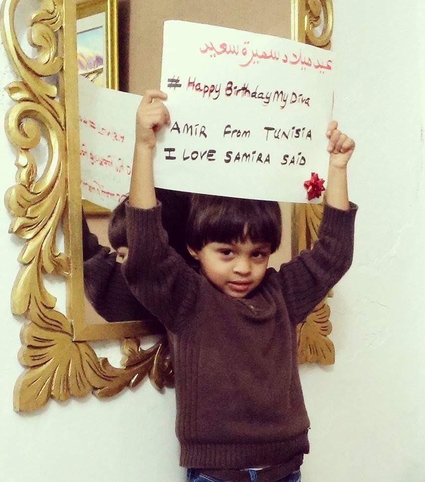 جمهور الديفا يحتفل بعيد ميلادها (2)