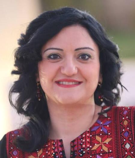 الكاتبة الفلسطينية فدى جريس