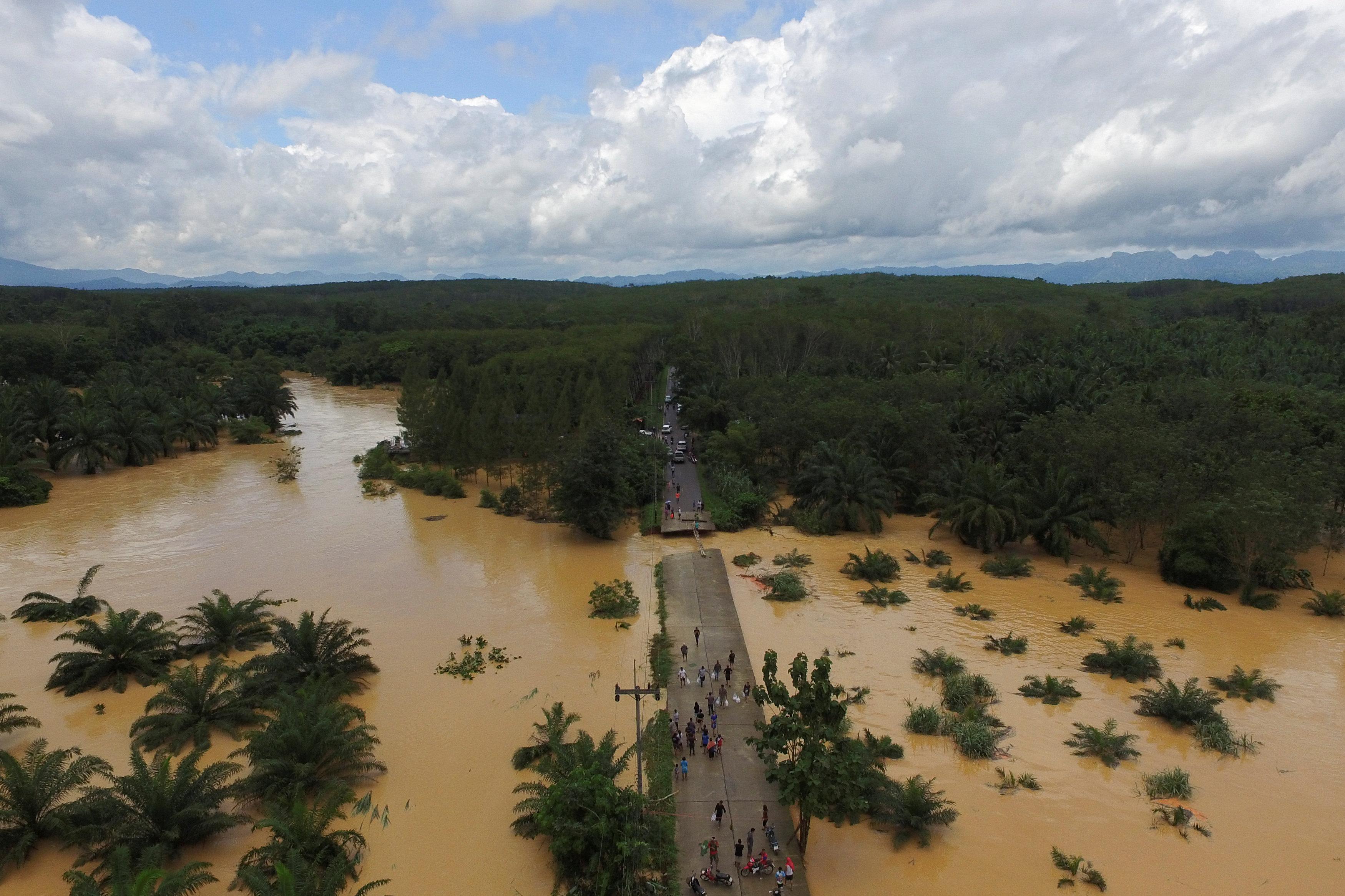 فيضانات عارمة تجتاح تايلاند
