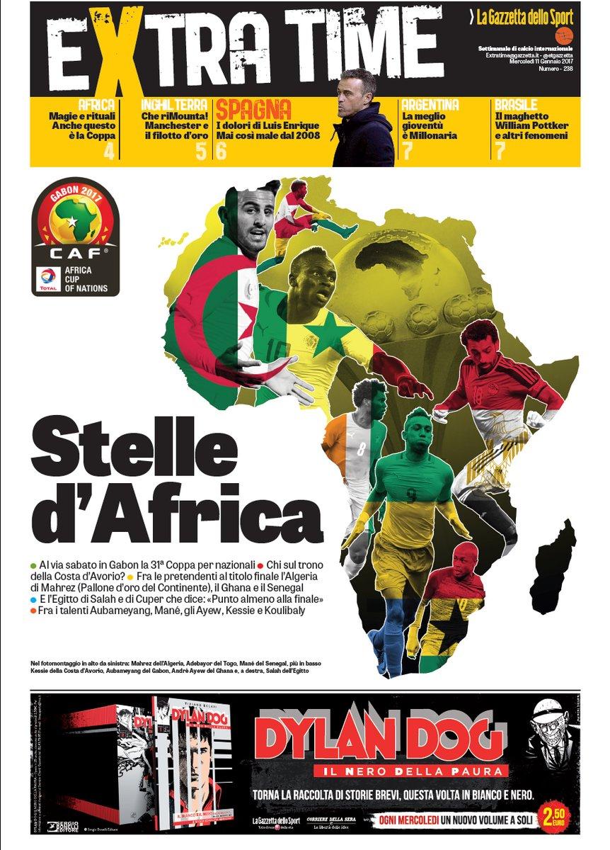 غلاف ملحق صحيفة لاجازيتا ديللو سبورت الايطالية