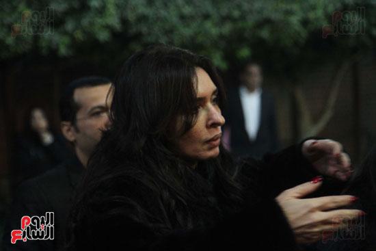 عزاء زوج بنت فيفى عبدة (6)