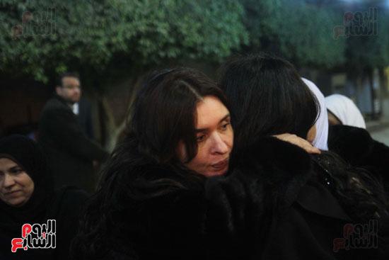 عزاء زوج بنت فيفى عبدة (7)