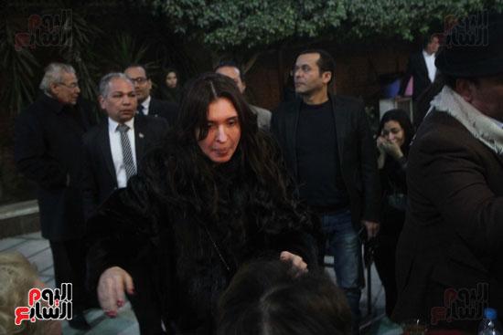 عزاء زوج بنت فيفى عبدة (8)