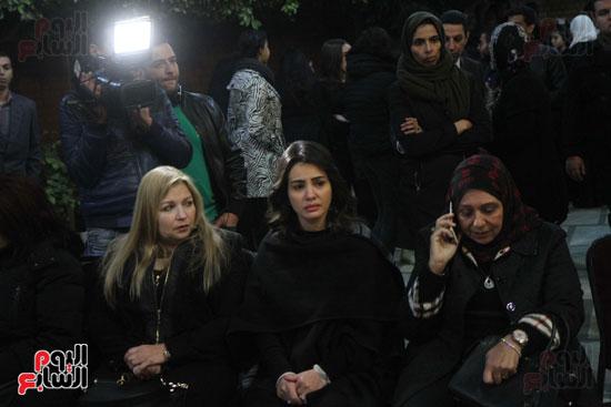 عزاء زوج بنت فيفى عبدة (9)