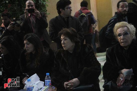 عزاء زوج بنت فيفى عبدة (10)