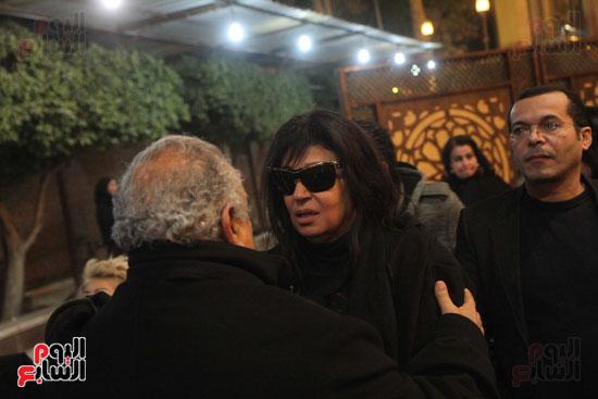عزاء زوج بنت فيفى عبدة (19)