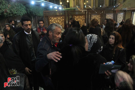 عزاء زوج بنت فيفى عبدة (17)
