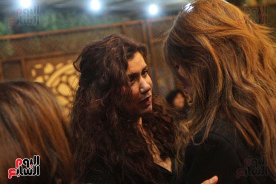 عزاء زوج بنت فيفى عبدة (16)