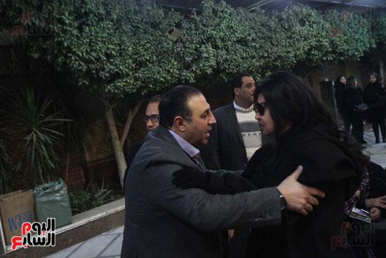 عزاء زوج بنت فيفى عبدة (3)