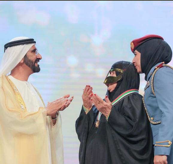 سيدة تدعو لمحمد بن راشد حاكم دبى (2)