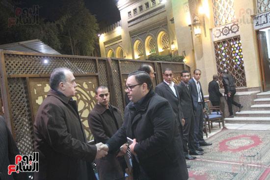 عزاء زوج بنت فيفى عبدة (1)
