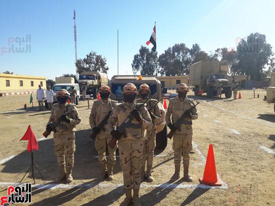 قوات حرس الحدود عين ساهرة فى حماية الوطن