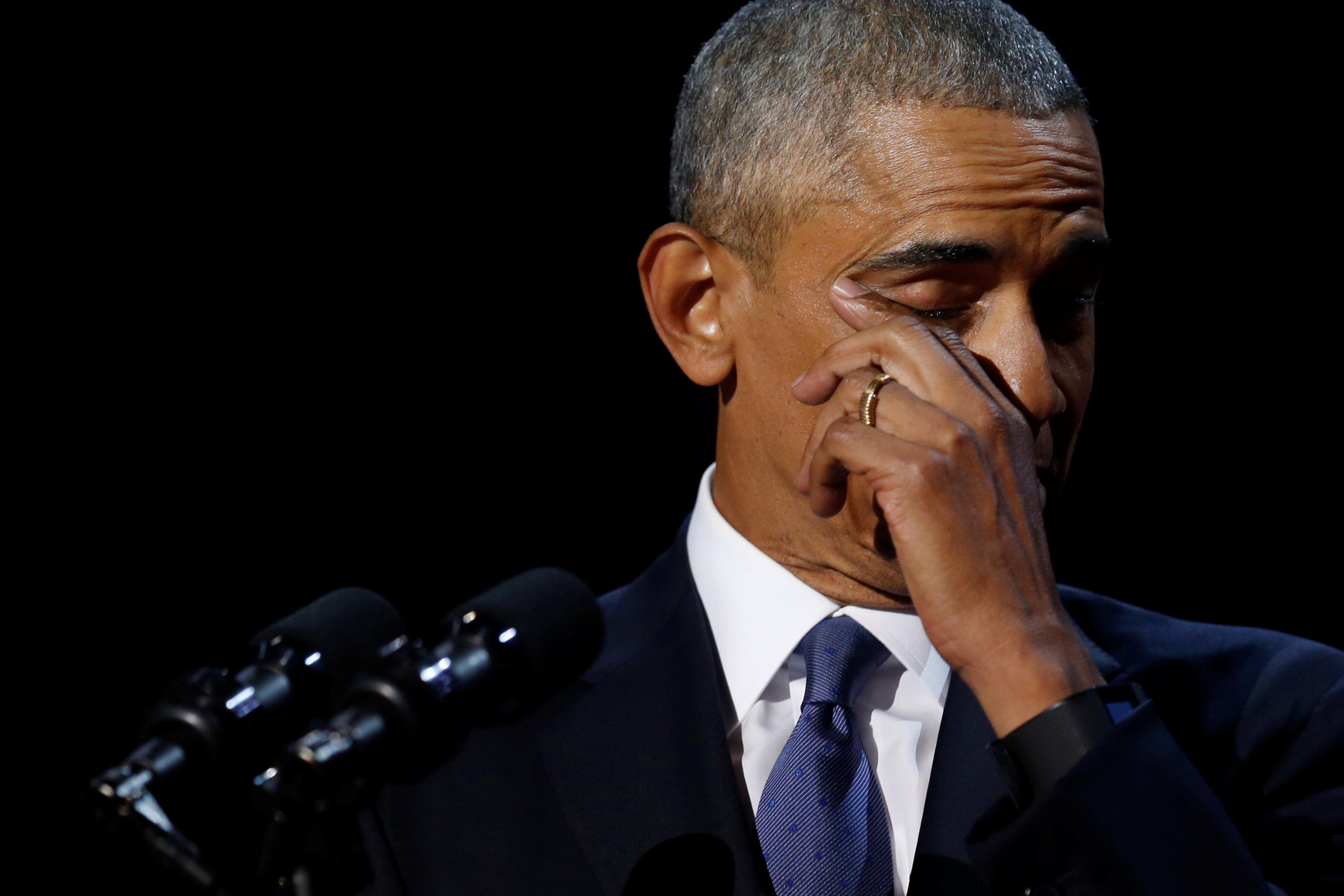 أوباما يودع رئاسة الولايات المتحدة الأمريكية