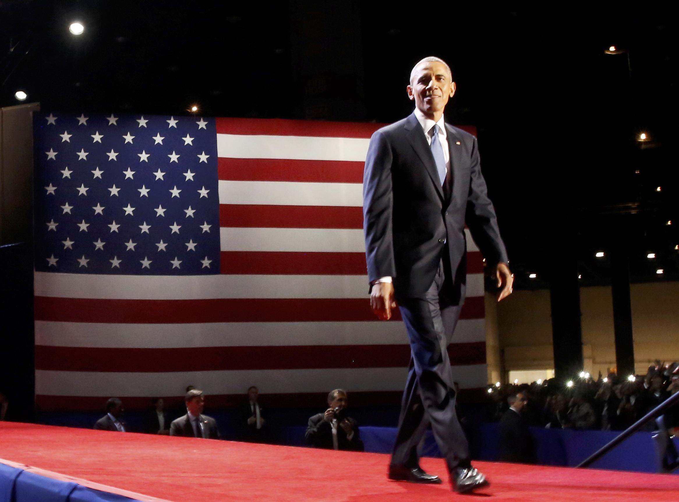 أوباما قبل خطابه