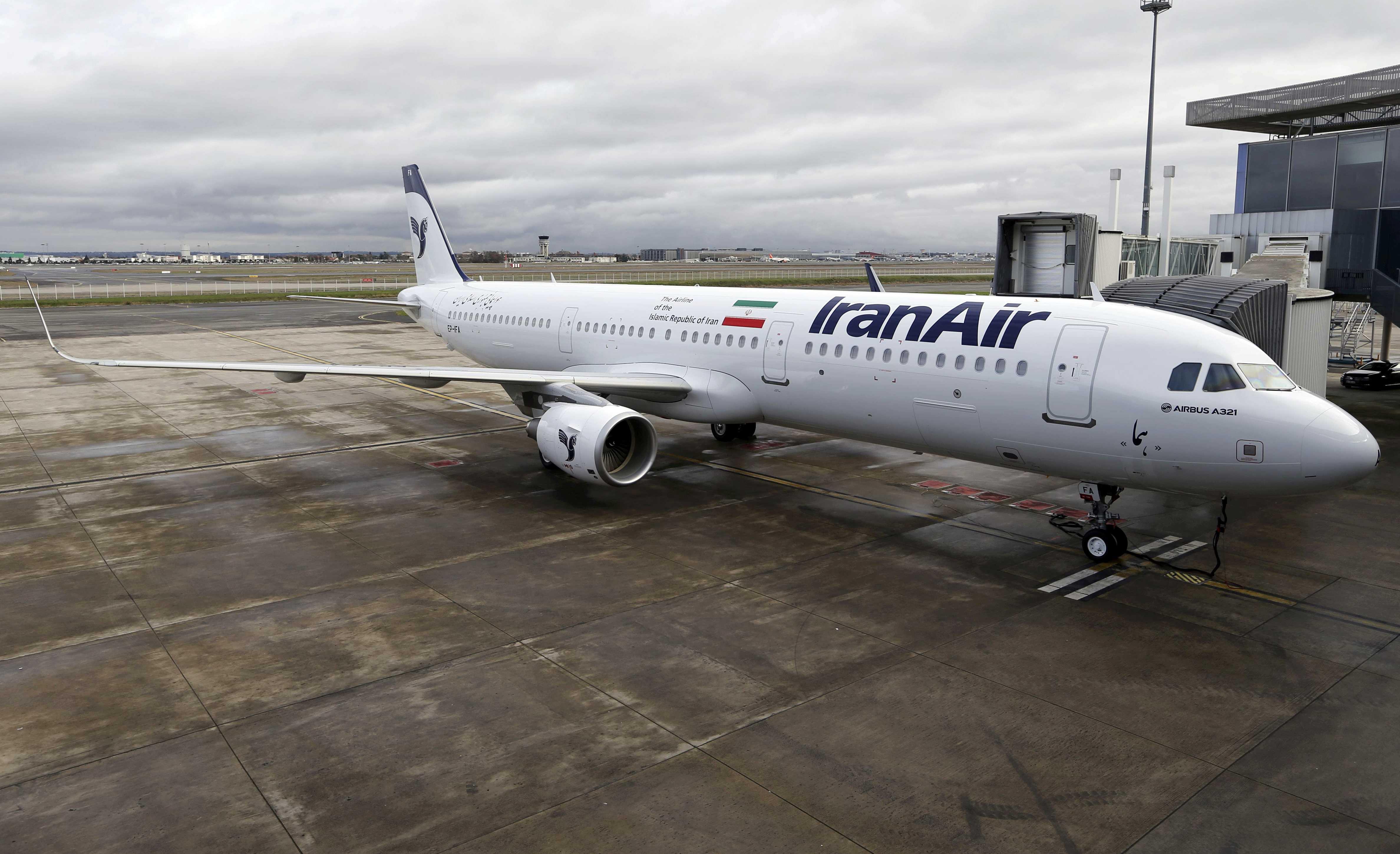 إيران تتسلم أول طائرة إيرباص منذ رفع العقوبات