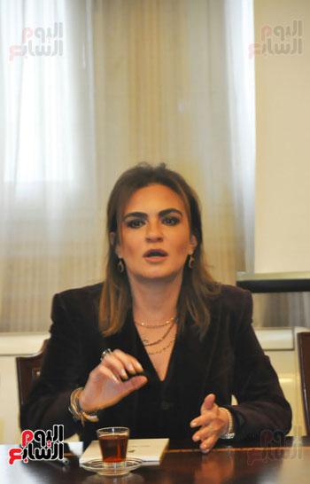 مؤتمر صحفى مجدى العجاتى وسحر نصر (11)