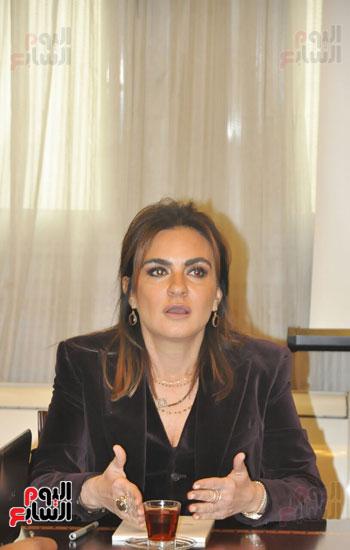 مؤتمر صحفى مجدى العجاتى وسحر نصر (6)