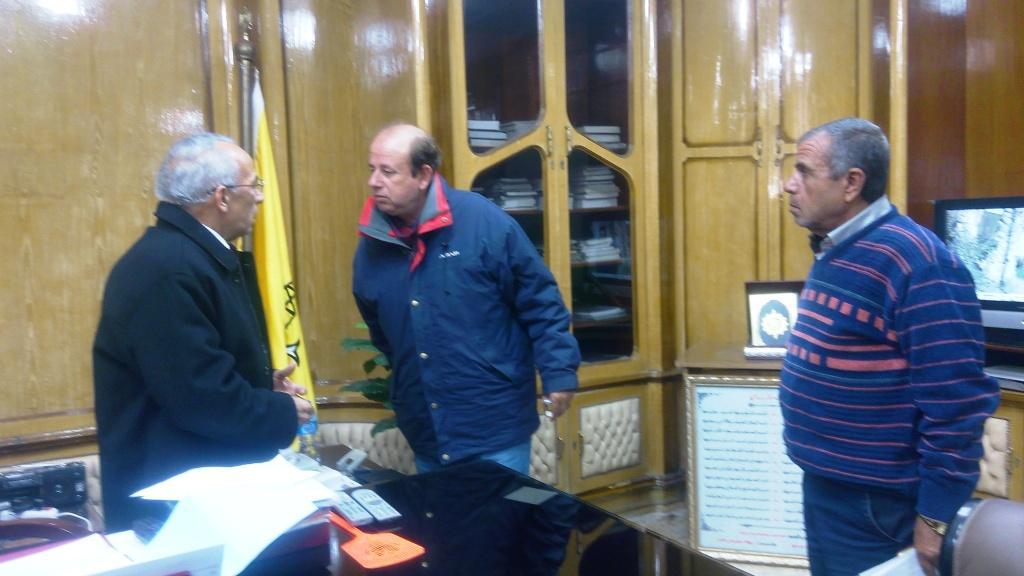 محافظ شمال سيناء يعود لعمله بعد غياب شهرين