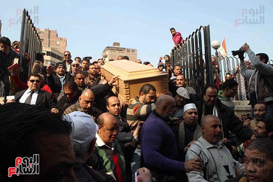جنازة كريمة مختار (34)