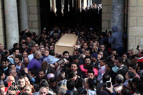 جنازة كريمة مختار (30)