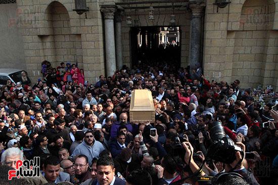 جنازة كريمة مختار (4)