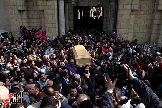 جنازة كريمة مختار (1)
