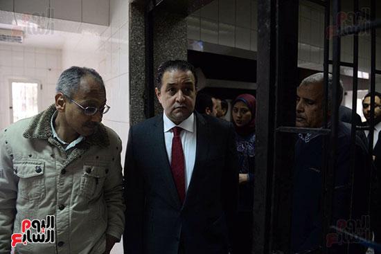 زيارة لجنة حقوق الإنسان بمجلس النواب، داخل جمعية أولادى بالمعادى (4)