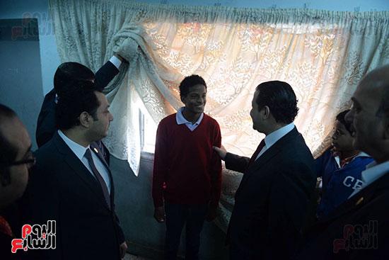 زيارة لجنة حقوق الإنسان بمجلس النواب، داخل جمعية أولادى بالمعادى (7)