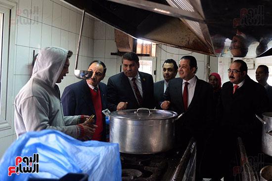 زيارة لجنة حقوق الإنسان بمجلس النواب، داخل جمعية أولادى بالمعادى (5)