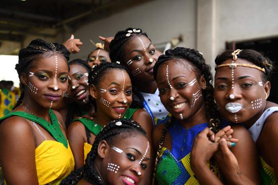 افتتاح بطولة كأس الأمم الأفريقية (2)