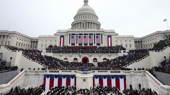 مبنى الكابيتول حيث مقر تنصيب الرئيس الأمريكى الـ 45