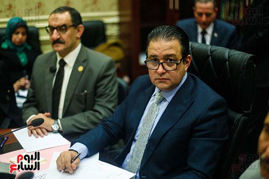 علاء عابد رئيس لجنة حقوق الانسان
