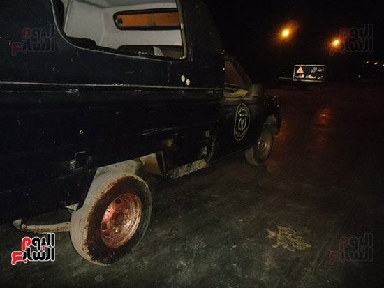 احدى-السيارات-المتضررة