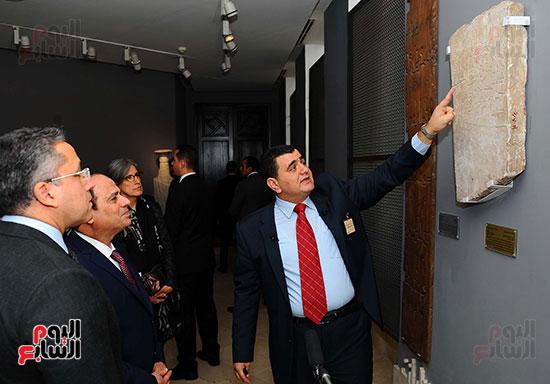 السيسى يفتتح متحف الفن الإسلامى بعد 3 سنوات من تعرضه لهجوم إرهابى (7)