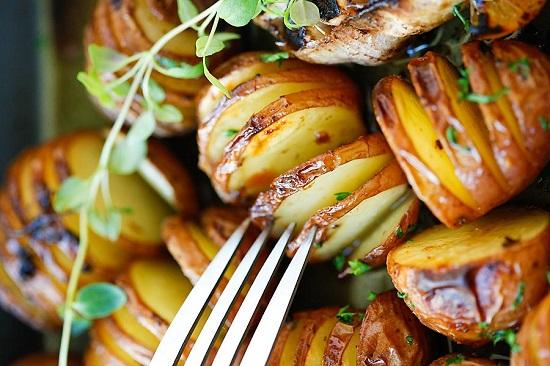 البطاطس بالروزمارى والخل البلسميك  (3)