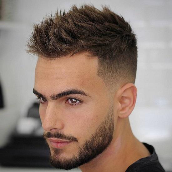 قصات شعر للرجال شبه قصير 3