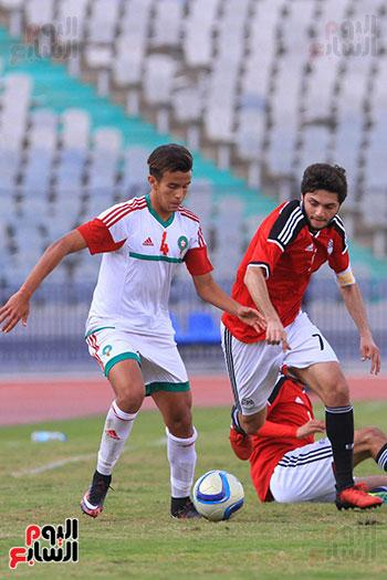 منتخب مصر للشباب والمغرب (33)
