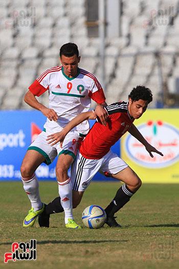 منتخب مصر للشباب والمغرب (31)