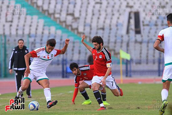 منتخب مصر للشباب والمغرب (32)